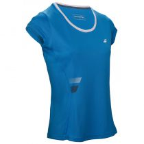 Babolat T-shirt Core Flag Lady - bleu drive