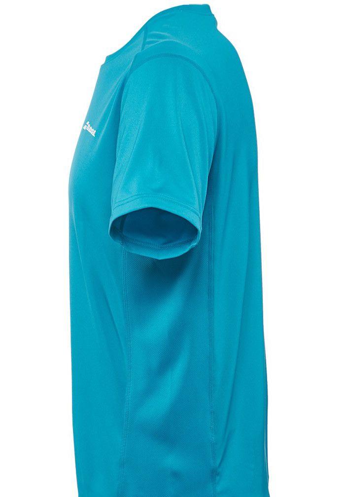 Babolat T-shirt Core Flag - bleu drive