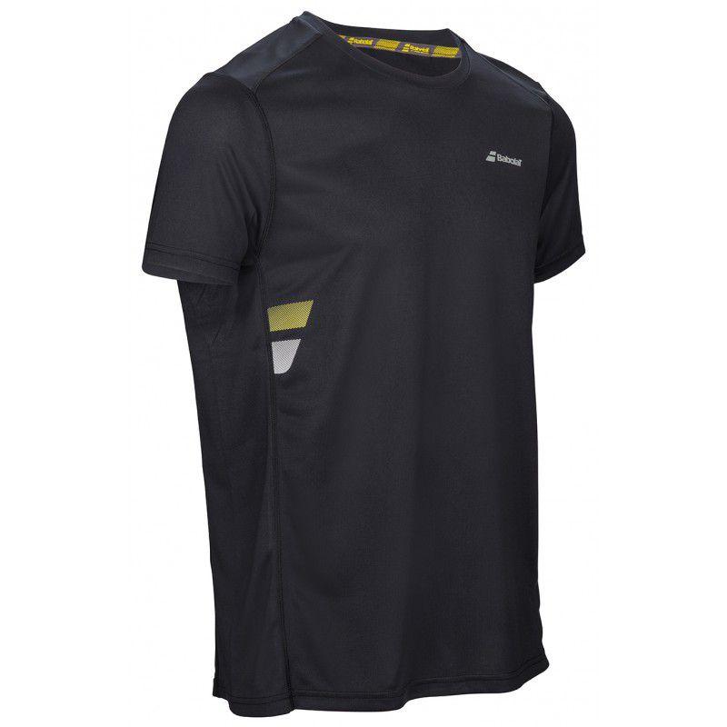 Babolat T-shirt Core Flag - noir