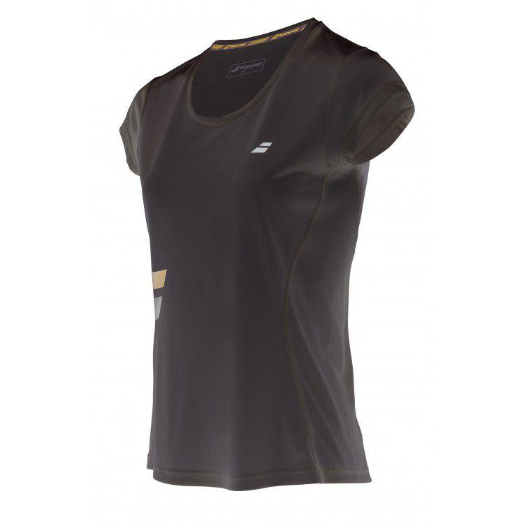 Babolat T-shirt Core Flag Lady - noir