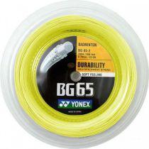 Bobine Yonex BG65 jaune - 200m