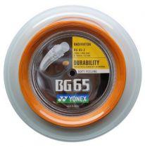 Bobine Yonex BG65 orange - 200m