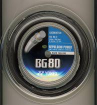 Bobine Yonex BG80 noir - 200m