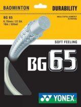 Cordage Yonex BG65 - 10m