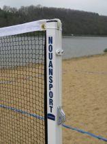 Ensemble complet pour badminton sur sable- acier – compétition – ffbad