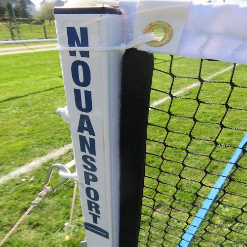 Ensemble pour badminton sur gazon – acier – compétition – ffbad