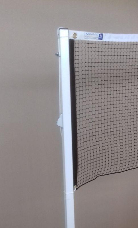 Filet de badminton avec velcro vertical