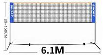 Kit badminton extérieur 6,1m