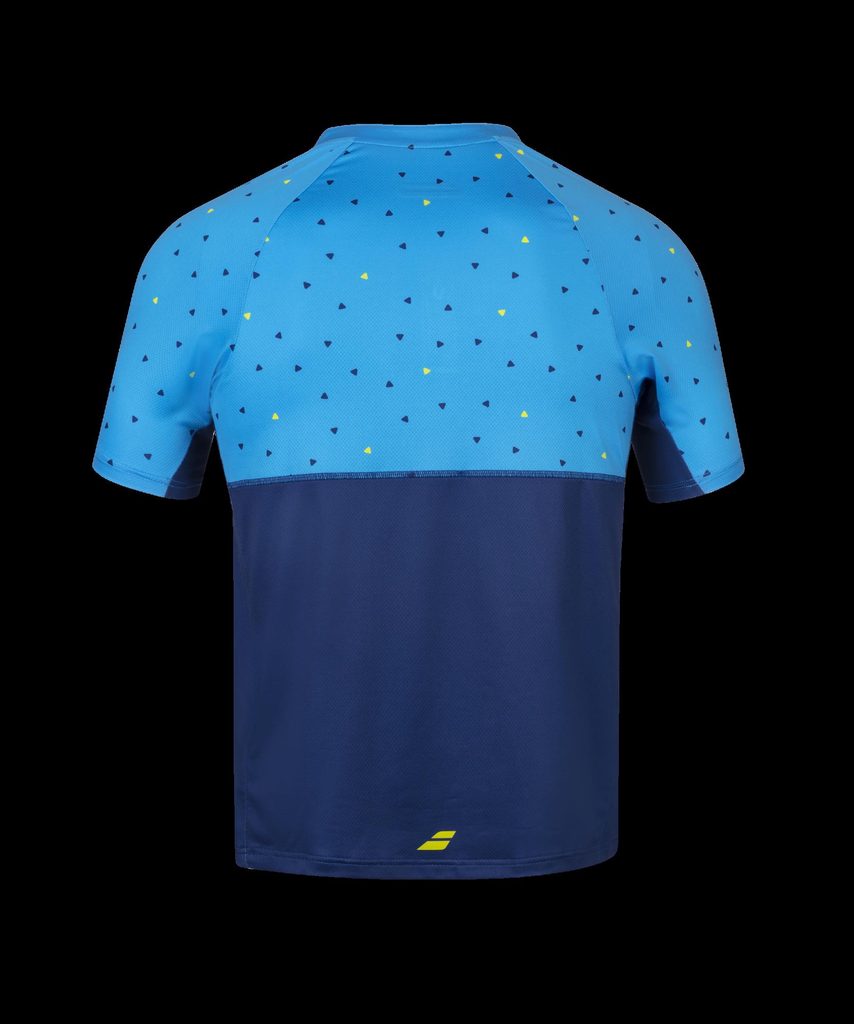 Polo Babolat Compete - bleu