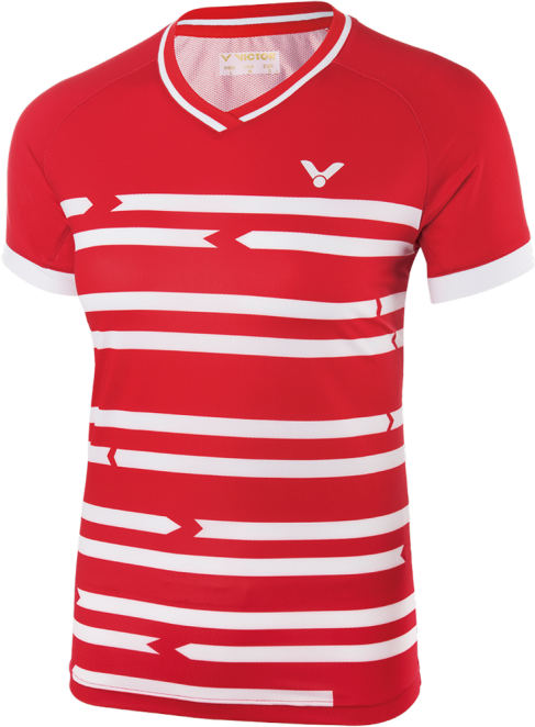 Polo Victor Danemark women red 6618