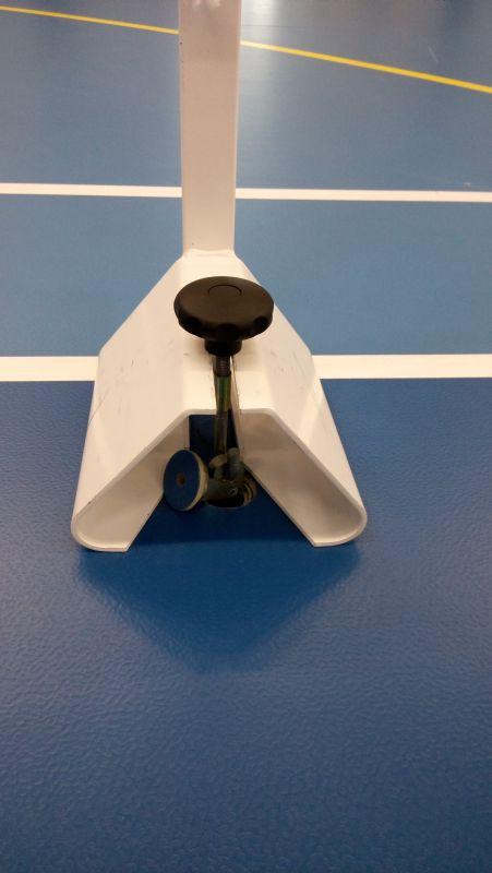 Poteaux de badminton à ancrer – compétition régionale