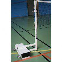 Poteaux de badminton sur embase – compétition nationale