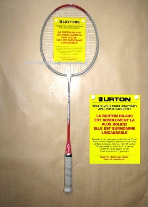 Raquette Incassable Burton BX490
