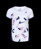 T-shirt Babolat Compete Cap Sleeve Women - blanc