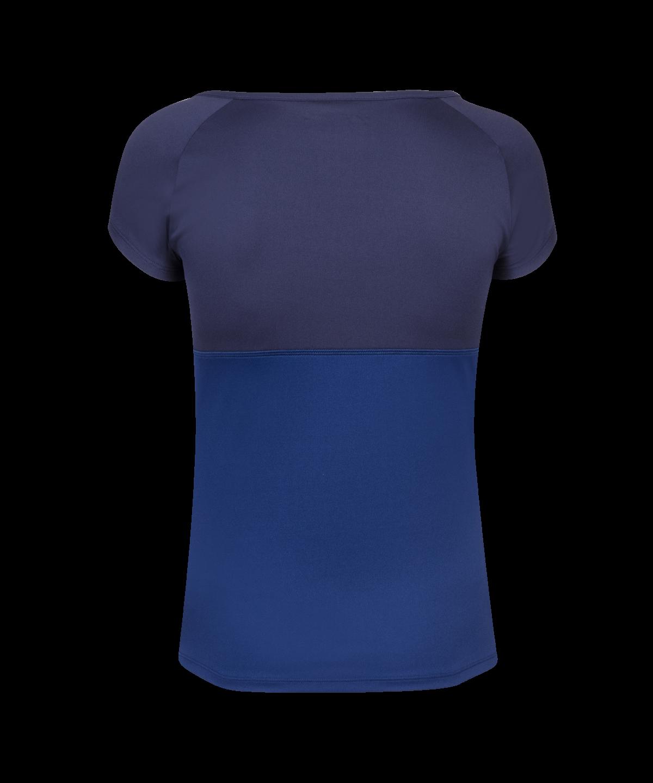 T-shirt Babolat Play Cap Sleeve Girl - bleu marine