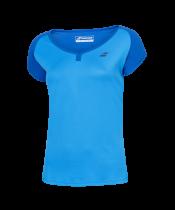 T-shirt Babolat Play Cap Sleeve Girl - bleu