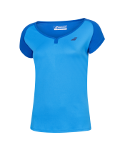 T-shirt Babolat Play Cap Sleeve Girl - bleu