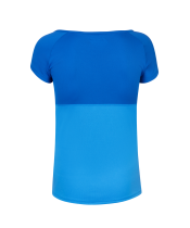 T-shirt Babolat Play Cap Sleeve Women - bleu