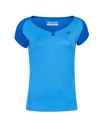 T-shirt Babolat Play Cap Sleeve Women - bleu