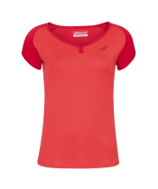 T-shirt Babolat Play Cap Sleeve Women - rouge