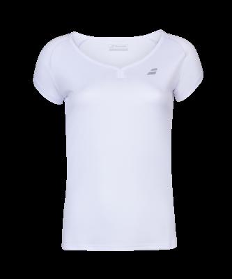 T-shirt Babolat Play Cap Sleeve Women- blanc