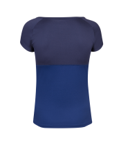 T-shirt Babolat Play Cap Sleeve Women- bleu marine