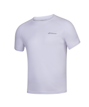 T-shirt Babolat Play Crew Neck - blanc