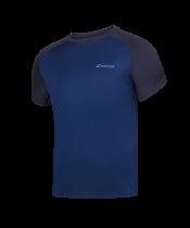 T-shirt Babolat Play Crew Neck - bleu marine