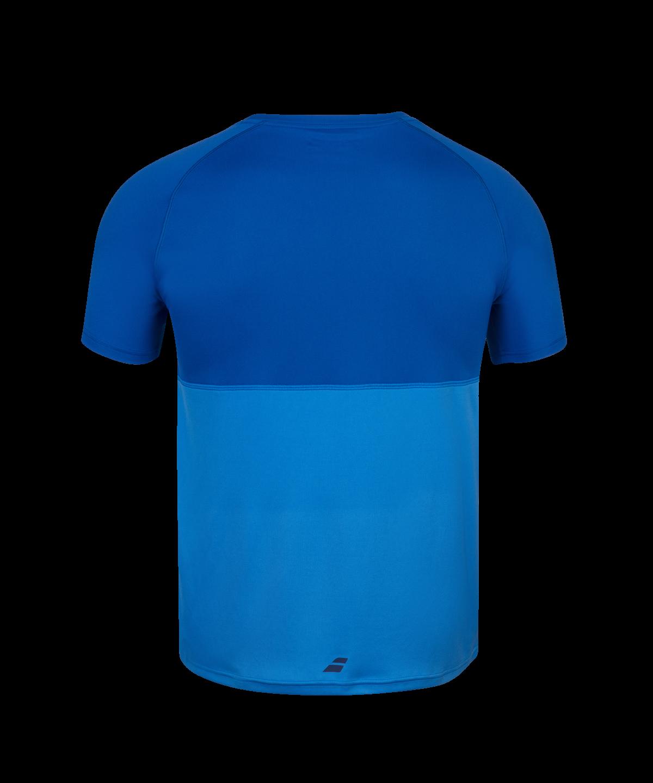 T-shirt Babolat Play Crew Neck - bleu