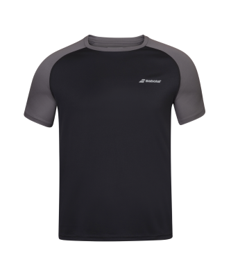 T-shirt Babolat Play Crew Neck - noir