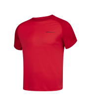 T-shirt Babolat Play Crew Neck - rouge