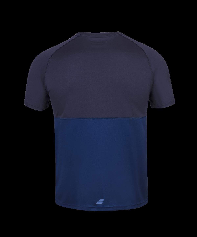 T-shirt Babolat Play Crew Neck Boy - bleu marine