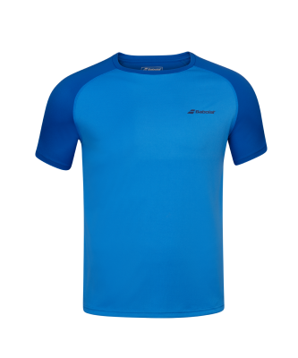 T-shirt Babolat Play Crew Neck Boy - bleu