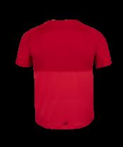 T-shirt Babolat Play Crew Neck Boy - rouge