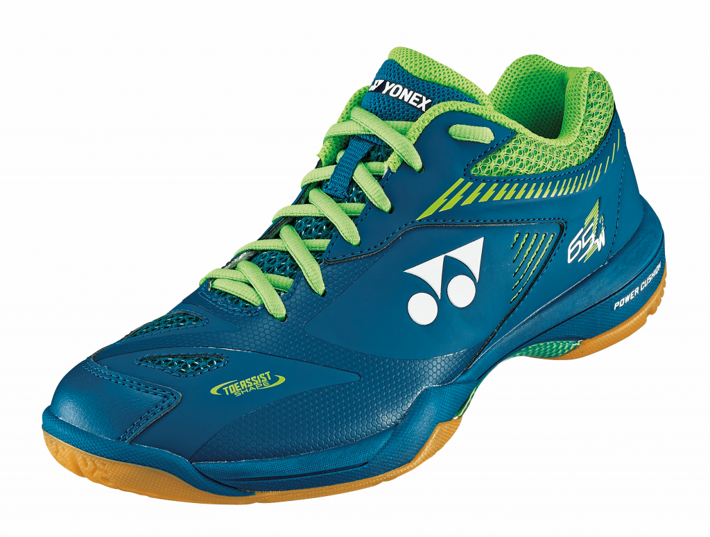 Yonex Power Cushion 65 Z2 Wide Men - Bleu/Vert