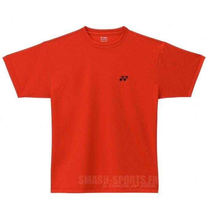 Yonex T-shirt Plain rouge